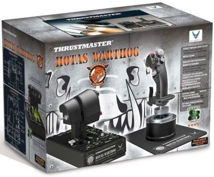 Thrustmaster - HOTAS Warthog Flight Stick + Dual Throttle