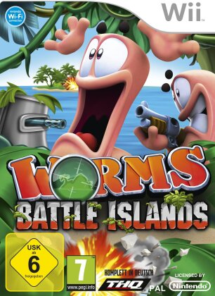 Worms Battle Island