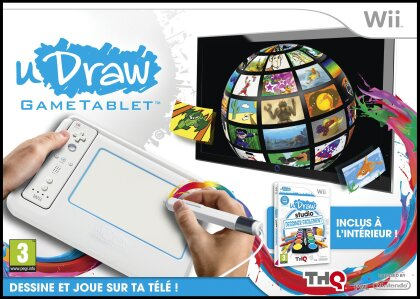 uDraw Gametablet incl. uDraw Studio Dessiner Facilement