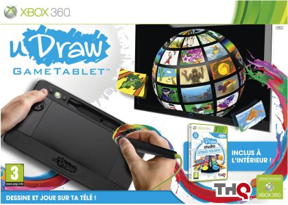 uDraw Gametablet incl. Dessiner Facilement