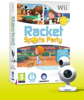 Racket Sports Party Bundle Wii Fr