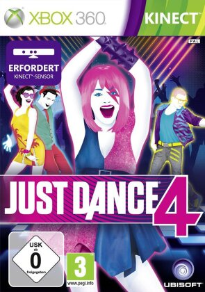 Just Dance 4 Kinect