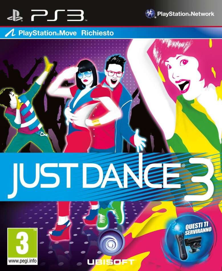 Just Dance 3 (Move only)