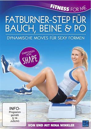 Fatburner-Step für Bauch, Beine & Po - Fitness for Me - Nina Winkler