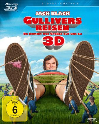 Gullivers Reisen (2010) (Blu-ray 3D + DVD)