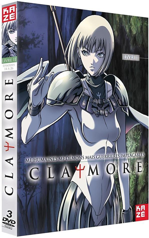 Claymore - Vol. 2 - Saison 1.2 (3 DVDs)