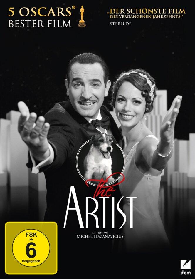 The Artist (2011) (Limited Award Edition, n/b, DVD + CD)