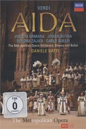 Metropolitan Opera Orchestra, Daniele Gatti, … - Verdi - Aida (Decca, 2 DVDs)