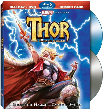 Thor: Tales of Asgard (2011) (Blu-ray + DVD)