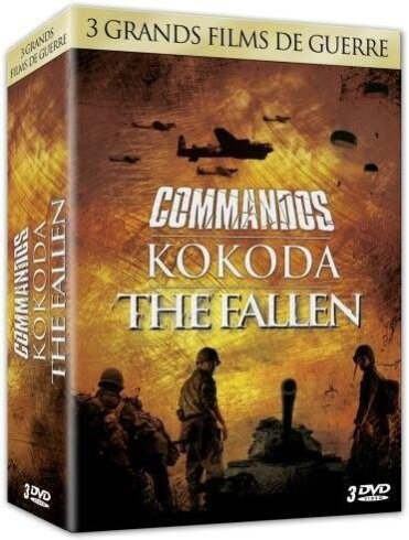 Commandos / Kokoda / The Fallen - Coffret Guerre Vol. 1 (3 DVDs)