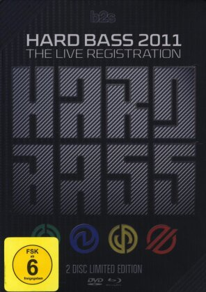 Various Artists - Hard Bass 2011 - The live registration (Edizione Limitata, Blu-ray + DVD)