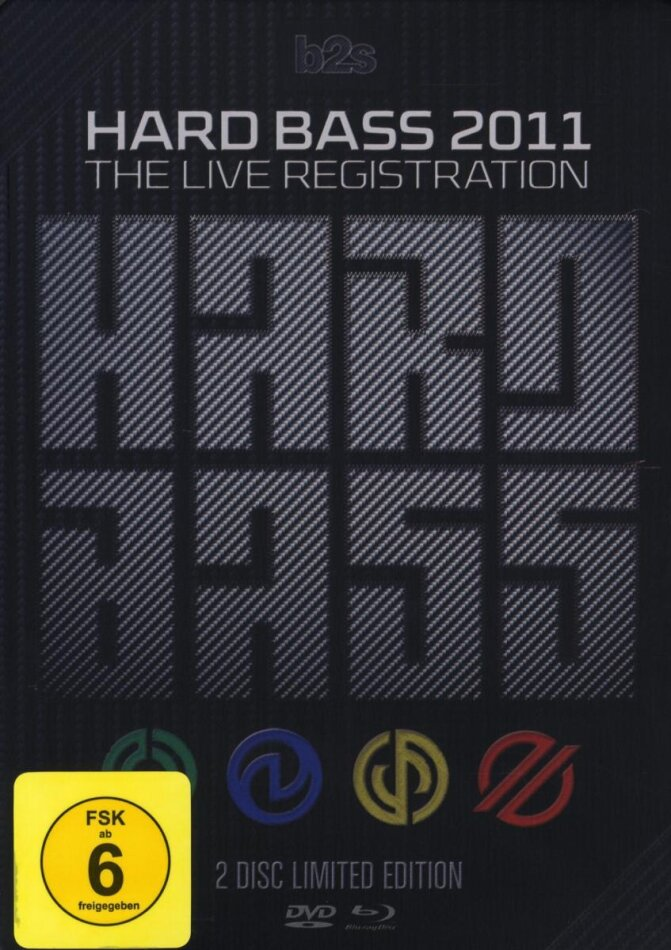 Various Artists - Hard Bass 2011 - The live registration (Limited Edition, Blu-ray + DVD)