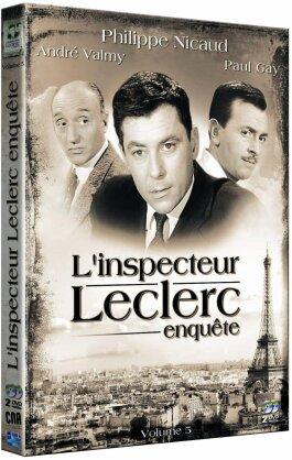 L'Inspecteur Leclerc enquête - Vol. 5 (s/w, 2 DVDs)