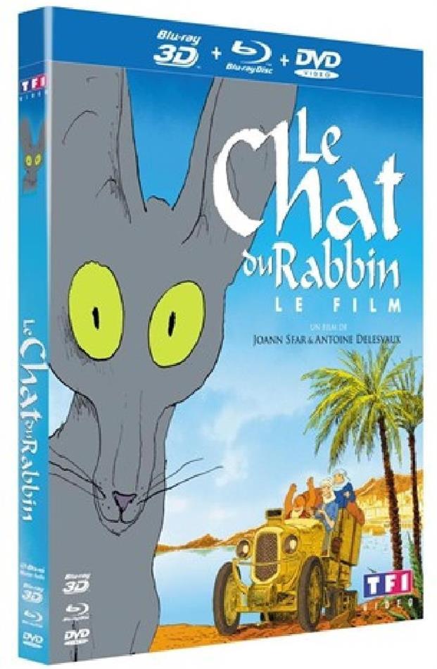 Le chat du rabbin - Le film (Blu-ray 3D (+2D) + DVD)