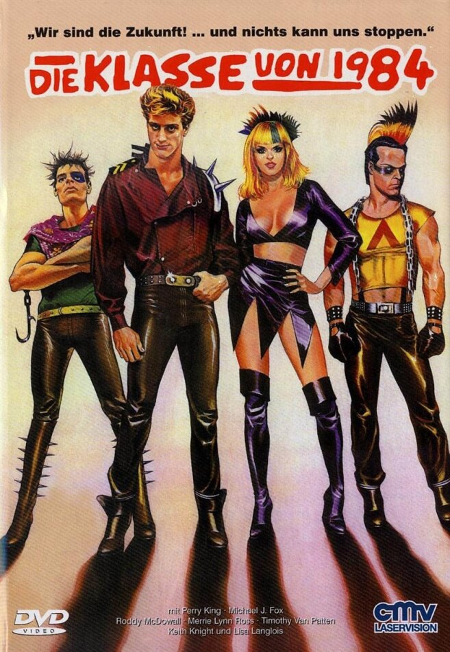 Die Klasse von 1984 (1982) (Kleine Hartbox, Cover A, Remastered, Uncut)