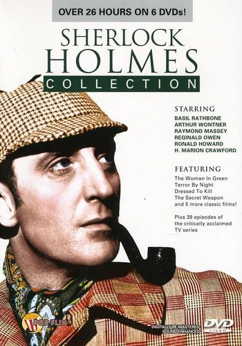 Sherlock Holmes Collection (s/w, Remastered, 6 DVDs)