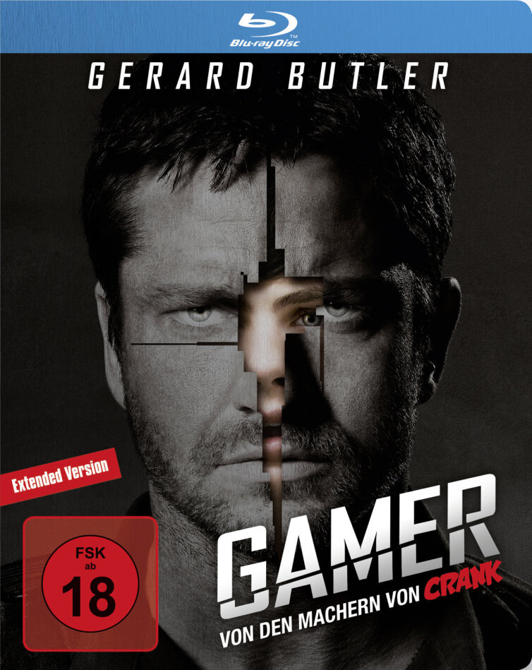 Gamer (2009) (Edizione Limitata, Steelbook, Blu-ray + DVD)