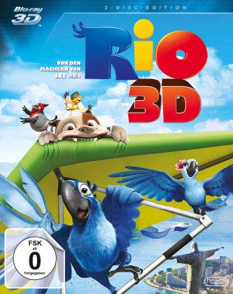 Rio (2011) (Blu-ray 3D + Blu-ray)
