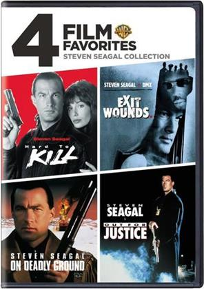 Steve Seagal - 4 Film Favorites
