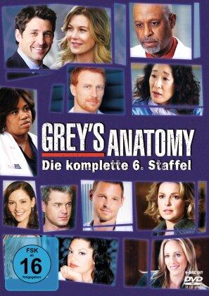 Grey's Anatomy - Staffel 6 (6 DVDs)