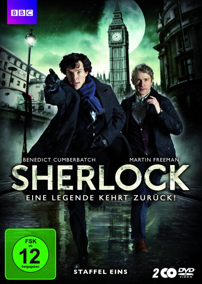 Sherlock - Staffel 1 (BBC, 2 DVD)