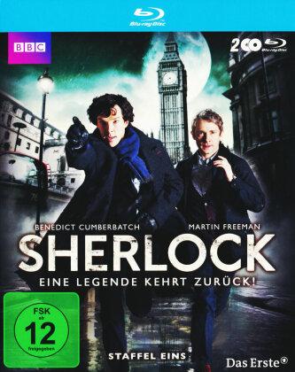 Sherlock - Staffel 1 (BBC, 2 Blu-rays)