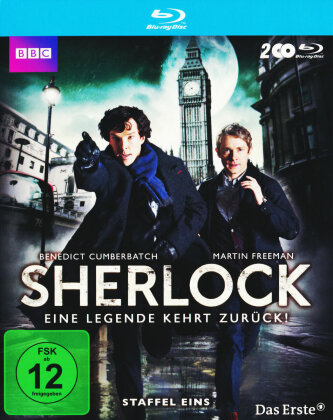 Sherlock - Staffel 1 (BBC, 2 Blu-ray)