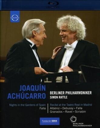 Berliner Philharmoniker, Sir Simon Rattle, … - De Falla - Nights in the Gardens of Spain (Euro Arts)