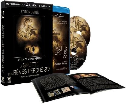 La grotte des rêves perdus (2010) (Limited Edition, Blu-ray 3D + Blu-ray + DVD)