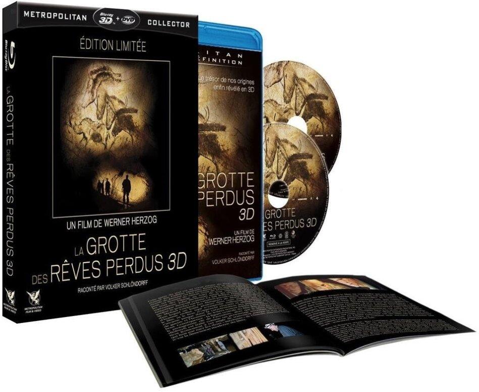 La grotte des rêves perdus (2010) (Edizione Limitata, Blu-ray 3D + Blu-ray + DVD)