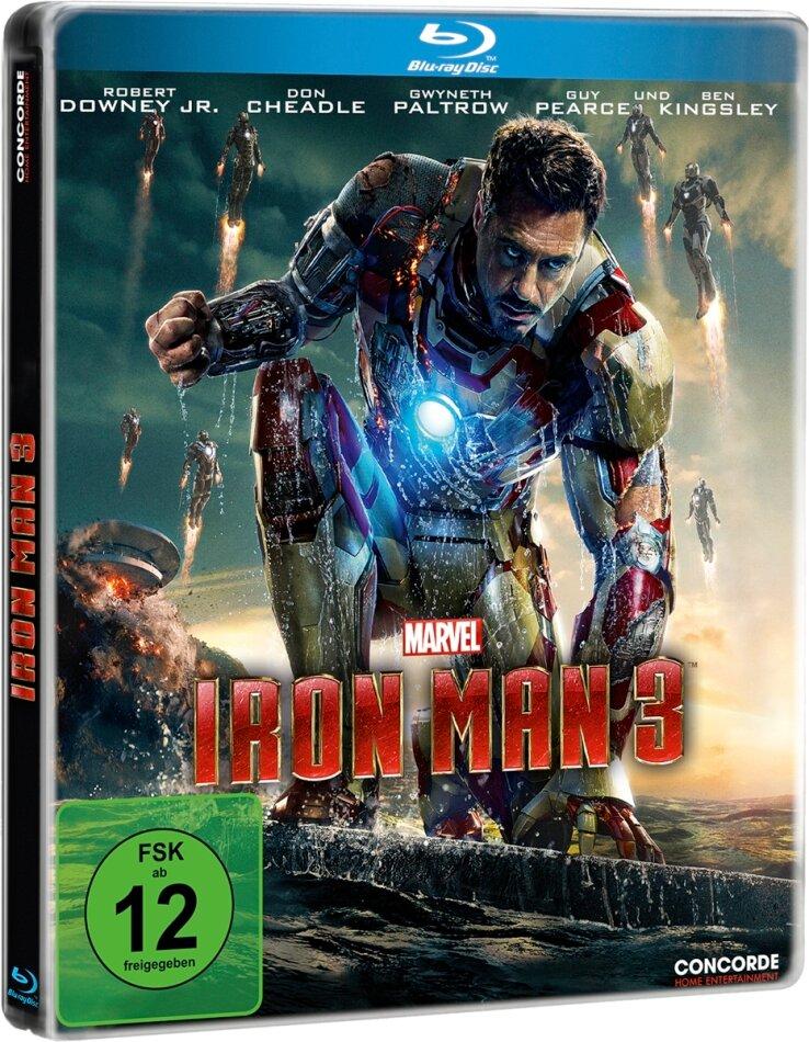 Iron Man 3 (2013) (Limited Edition, Steelbook)