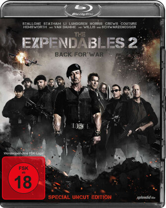 The Expendables 2 - Back for War (2012) (Edizione Speciale, Uncut)