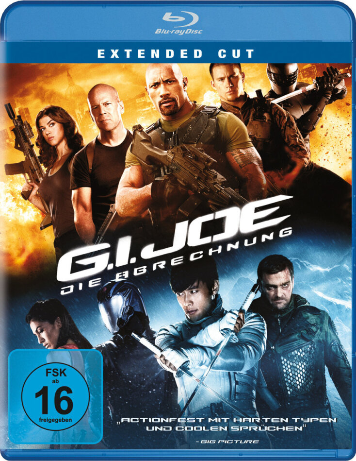 G.I. Joe - Die Abrechnung (2012) (Extended Cut)