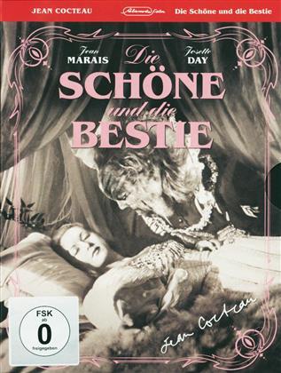 Die Schöne und die Bestie (1945) (Special Edition, s/w, Blu-ray + 2 DVDs)