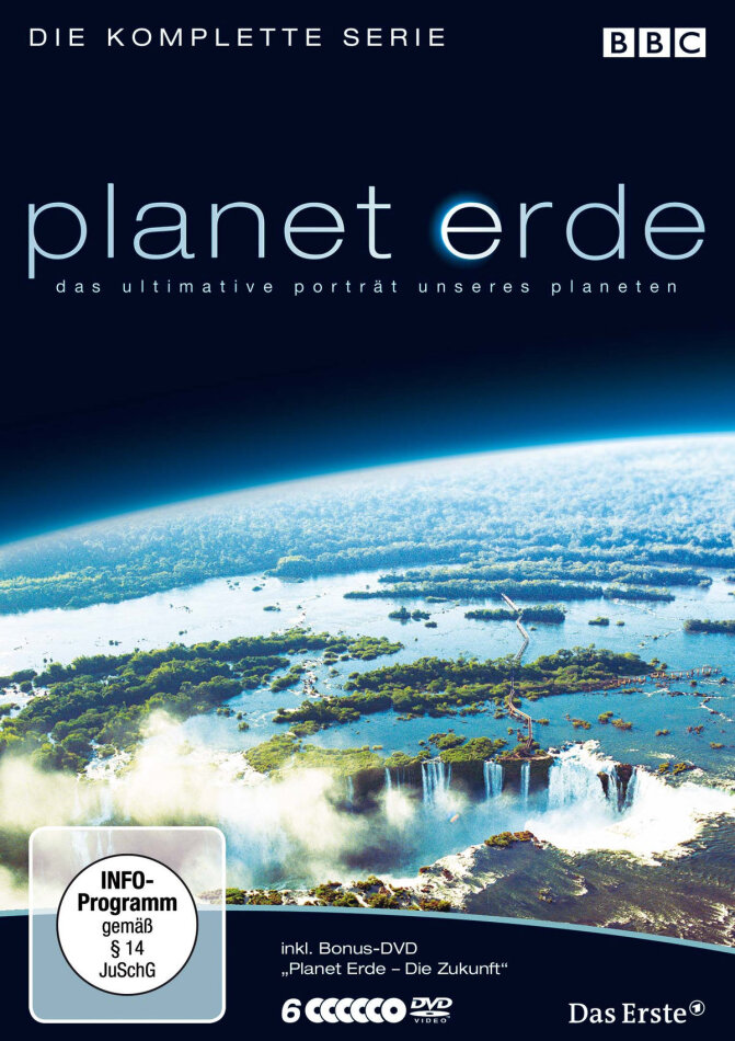 Planet Erde - Die komplette Serie (2006) (BBC, Softbox, 6 DVDs)