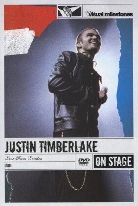 Timberlake Justin - Live in London (Visual Milestones)