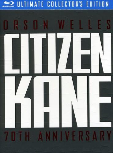 Citizen Kane - (70th Anniversary Ultimate Collector's Edition 3 Discs, with 2 Books & Lobby Cards)