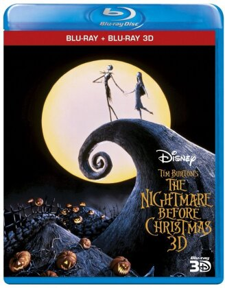 The Nightmare before Christmas (1993) (Blu-ray 3D + Blu-ray)