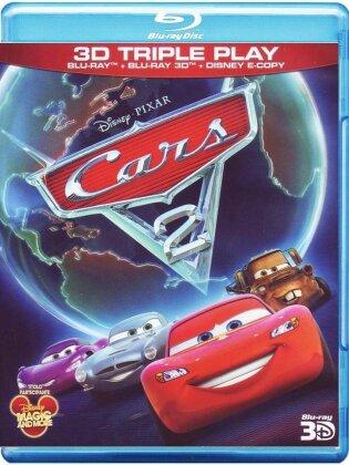 Cars 2 (2011) (Blu-ray 3D + Blu-ray)