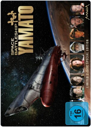 Space Battleship Yamato (2010) (Limited Special Edition, Steelbook, 2 DVDs)