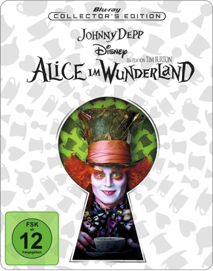 Alice im Wunderland (2010) (Limited Edition, Steelbook)
