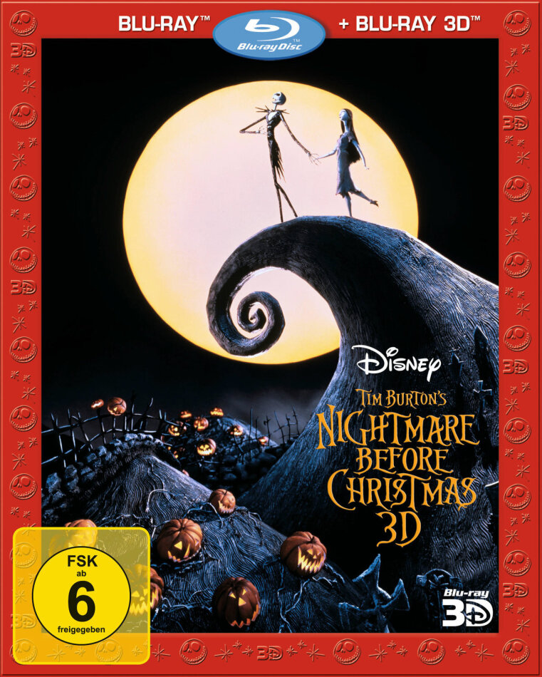 Nightmare before Christmas (1993) (Blu-ray 3D + Blu-ray)