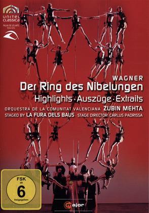 Orquestra de la Comunitat Valenciana, La Fura Dels Baus, … - Wagner - Der Ring des Niebelungen (Highlights) (C Major, Unitel Classica)