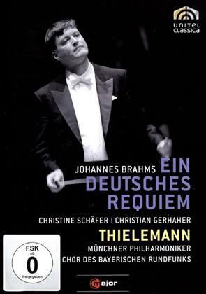 Münchner Philharmoniker, Christian Thielemann, … - Brahms - Ein Deutsches Requiem (C Major, Unitel Classica)