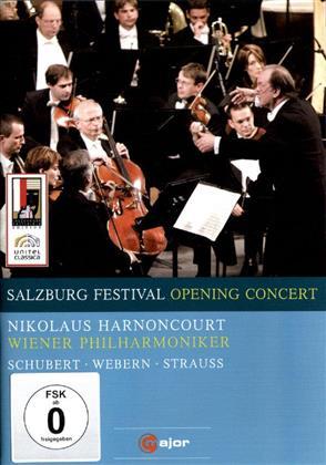 Wiener Philharmoniker & Nikolaus Harnoncourt - Salzburg Festival Opening Concert 2009 (C Major, Salzburger Festspiele, Unitel Classica)