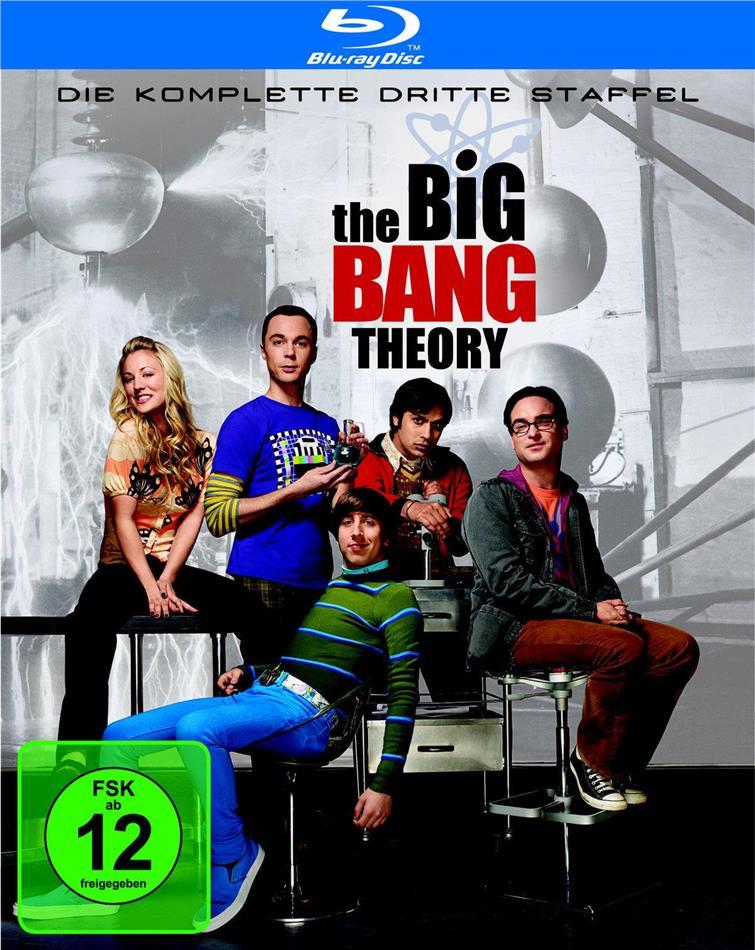The Big Bang Theory - Staffel 3 (3 Blu-rays)