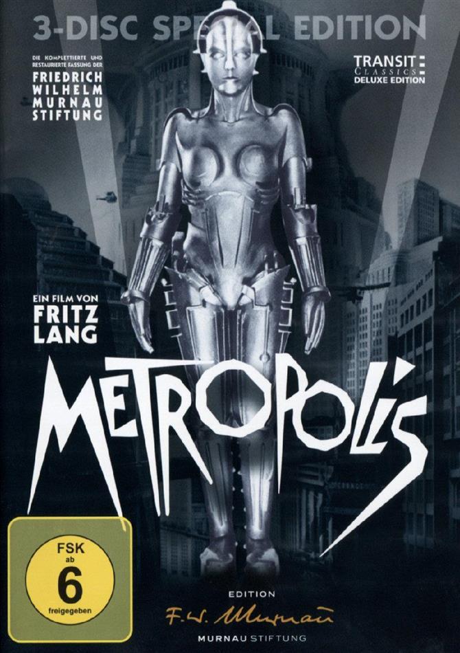 Metropolis (1927) (3 DVDs)