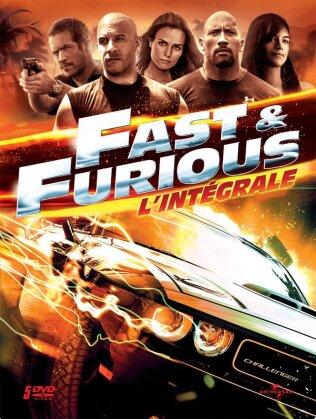 Fast & Furious 1 - 5 (Steelbook, 5 DVD)