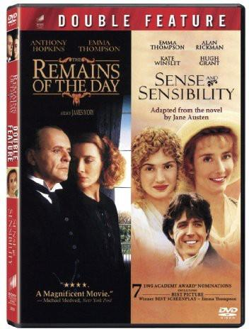 The Remains of the Day / Sense and Sensibility (2 DVDs)