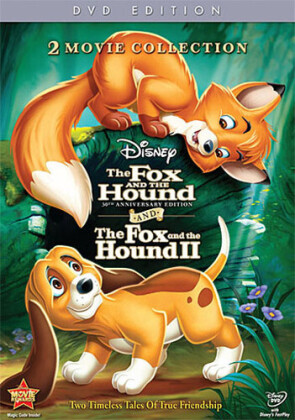The Fox and the Hound 1 & 2 (Anniversary Edition, 2 DVDs)
